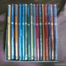 Postales: CATALUNYA UNIVERSAL. COMPLETA 16 EJEMPLARES. (3 POSTALES + LIBRO X EJEMPLAR) LA VANGUARDIA.. Lote 58074593