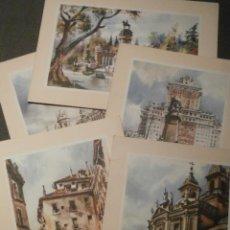 Postales: POSTAL - ESPAÑA - MADRID - LOTE DE 5 EN DIPTICO - . Lote 58432306