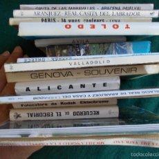 Postales: LOTE 15 COLECCIONES VARIADAS DE POSTALES. Lote 60328671