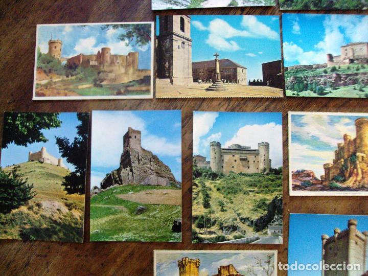 Postales: Lote postales de Castillos de España 15 items - Foto 2 - 64492511