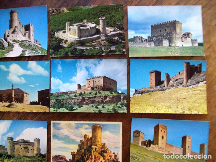 Postales: Lote postales de Castillos de España 15 items - Foto 3 - 64492511