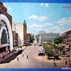 Postales: POSTAL VALLADOLID. 449. PLAZA DE ESPAÑA. IGLESIA DE NTRA. SRA. DE LA PAZ. EDICIONES PARÍS J. M.. Lote 245155360