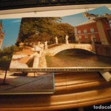 Postales: POSTALES DE ARANJUEZ Y CASA DEL LABRADOR NUEVAS.. Lote 68912721