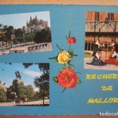 Postales: POSTAL ANTIGUA: ICARIA. MALLORCA.- 1969. Lote 69103877