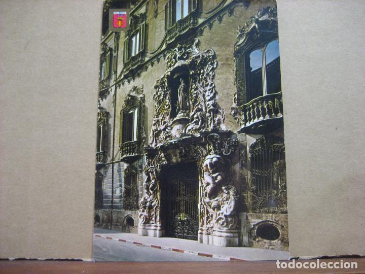 POSTAL ANTIGUA: SUBIRATS CASANOVAS.- VALENCIA. PALACIO DEL MARQUES DE DOS AGUAS, FACHADA. 1968 (Postales - España - Sin Clasificar Moderna (desde 1.940))