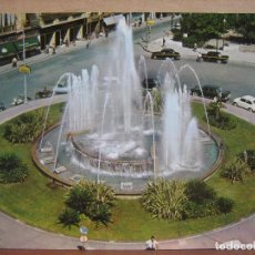 Postales: POSTAL ANTIGUA: SUBIRATS CASANOVAS.- VALENCIA. FUENTE PLAZA DE LA REINA. 1962. Lote 69248073