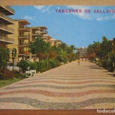 Postales: POSTAL ANTIGUA: EDIC. ARRIBAS. TABERNES DE VALLDIGNA. PASEO AVENIDA. 1975. Lote 69248905