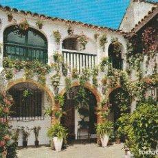 Postales: Nº 1555 POSTAL ESPAÑA TIPICA PATIO ANDALUZ. Lote 69260257