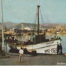Postales: LOTE A POSTALES POSTAL MALAGA PUERTO AÑOS 60 EDITA FARDI SIN CIRCULAR. Lote 69294605