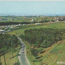 Postales: LOTE A POSTALES POSTAL SANTANDER CAMPING DE BELLAVISTA AÑOS 60 ESCRITA EDITA GARRABELLA. Lote 69577617