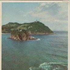 Cartoline: LOTE A POSTALES POSTAL SAN SEBASTIAN AÑOS 50 ESCRITA EDITA ESPERON. Lote 70458057