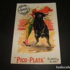Postales: PICO PLATA TOROS FIESTA TAURINA. Lote 71387411
