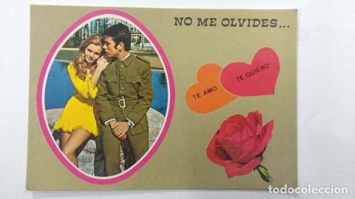NO ME OLVIDES.... TE AMO, TE QUIERO 1972 (Postales - España - Sin Clasificar Moderna (desde 1.940))