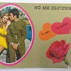 Postales: NO ME OLVIDES.... TE AMO, TE QUIERO 1972. Lote 72332635