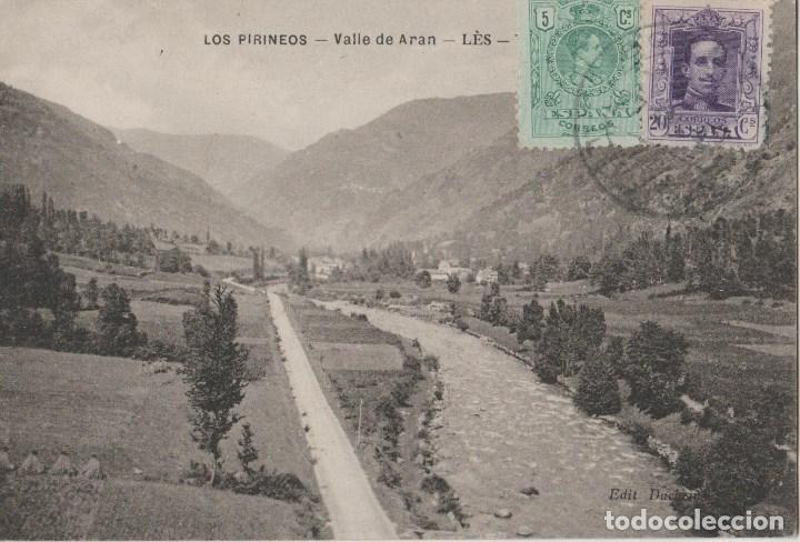 POSTALES POSTAL VALLE DE ARAN SELLOS (Postales - España - Sin Clasificar Moderna (desde 1.940))
