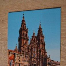 Postales: POSTAL 3210 * SANTIAGO DE COMPOSTELA * CATEDRAL FACHADA DEL OBRADOIRO * NO CIRCULADA* P-4. Lote 77469905