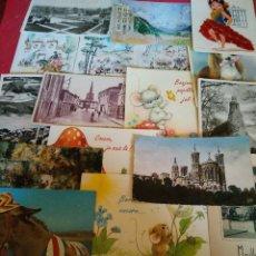 Postales: LOTE DE 17 POSTALES VARIAS LAS DE LAS FOTOS. Lote 80789858