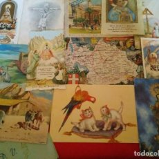 Postales: LOTE DE 14 POSTALES VARIAS Y ESTANPAS ETC LAS DE LAS FOTOS. Lote 80789882
