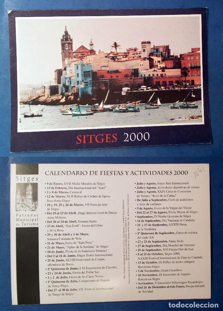 SITGES 2000 - POSTCARD (Postales - España - Sin Clasificar Moderna (desde 1.940))