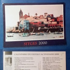 Postales: SITGES 2000 - POSTCARD. Lote 80906800