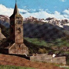 Postales: IGLESIA DE VILAC - VALLE DE ARAN - PIRINEO CATALAN ( LERIDA ) FOTO ESCUDO DE ORO Nº 171. Lote 82730944