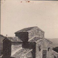 Postales: OVIEDO. IGLESIA DE SAN MIGUEL DE LILLO. SIGLO IX. POSTAL BLANCO Y NEGRO, C. 1960. Lote 129521108