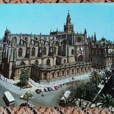Postales: TARJETA POSTAL, POSTAL. SEVILLA. LA CATEDRAL. Lote 84017416