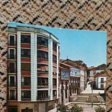 Postales: TARJETA POSTAL, POSTAL. MONFORTE DE LENOS, PLAZA DE ESPAÑA. Lote 84017496