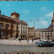 Postales: TARJETA POSTAL, POSTAL. ALCOY ALICANTE. PLAZA DE ESPAÑA. Lote 84017680