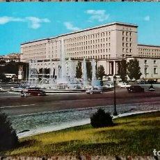 Postales: TARJETA POSTAL, POSTAL. MADRID. PLAZA DE SAN JUAN DE LA CRUZ Y NUEVOS MINISTERIOS. Lote 84018572