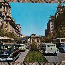 Postales: TARJETA POSTAL, POSTAL. MADRID. CALLE Y PUERTA DE ALCALA. Lote 84019004