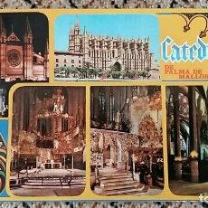 Postales: TARJETA POSTAL, POSTAL. PALMA DE MALLORCA. LA CATEDRAL. Lote 84020300
