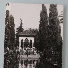 Postales: ANTIGUA POSTAL FOTO GARCIA – CORTES BLANCO NEGRO DE TETUAN PARQUE CAGIGAS – AÑOS 50 . Lote 86010116
