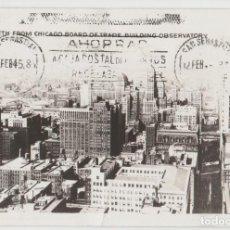 Postales: POSTALES POSTAL CHICAGO ESTADOS UNIDOS 1946 MATA SELLOS. Lote 86307684
