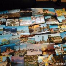 Postales: LOTE 42 POSTALES ESPAÑA AÑOS 60 70. Lote 86722128