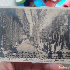 Postales: BARCELONA, IGLESIA DE BELEN Y RAMBLA DE ESTUDIOS 4/921. 1920. Lote 91588720