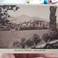 Postales: BELLVER DE CERDAÑA, SIERRA DEL CADI. ED. RIEUSSET.. Lote 91590845