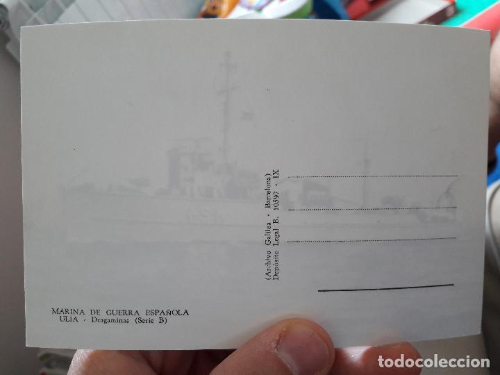 Postales: Marina de guerra española, Ulia, dragaminas, archivo galilea - Foto 2 - 91591050