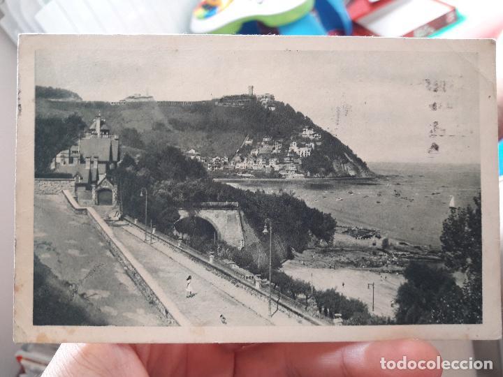 SAN SEBASTIAN, IGUELDO. 102. FOT. PAISAJSTICA ANTONIO (Postales - España - Sin Clasificar Moderna (desde 1.940))