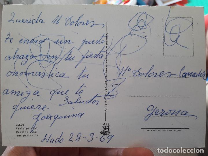 Postales: Llado, Gerona, vista parcial. Ed. Fiter. 1969 - Foto 2 - 91591405