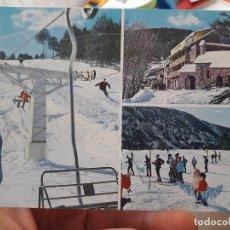 Postales: LA MOLINA, ESTACION INVERNAL. ED. SICILIA, 5. Lote 91591420