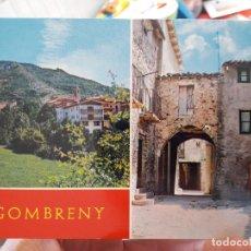 Postales: GOMBRENY, GERONA, VISTA PARCIAL. ED TUBAU, 1970. Lote 91591685
