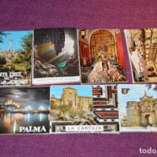 Postales: LOTE 7 LIBRITOS DE POSTALES - GRANADA, AVILA, TOLEDO, S COMPOSTELA Y MAS - SIN CIRCULAR - HAZ OFERTA. Lote 92060545