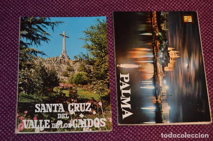 Postales: LOTE 7 LIBRITOS DE POSTALES - GRANADA, AVILA, TOLEDO, S COMPOSTELA Y MAS - SIN CIRCULAR - HAZ OFERTA - Foto 2 - 92060545