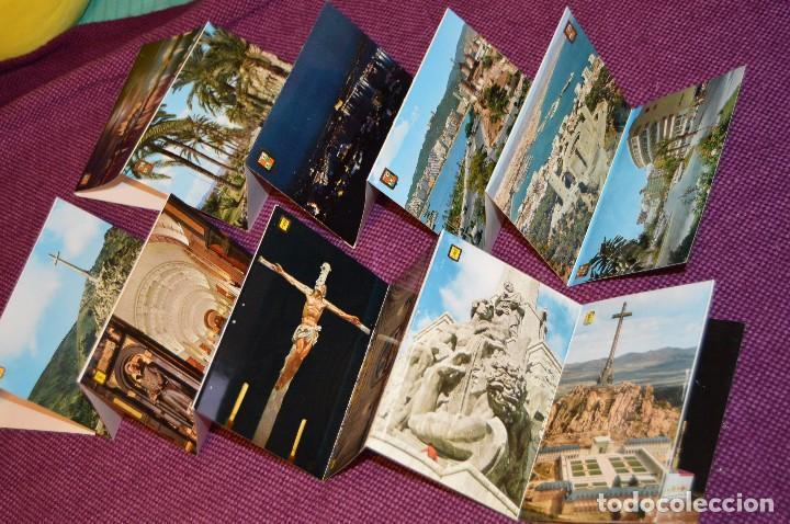 Postales: LOTE 7 LIBRITOS DE POSTALES - GRANADA, AVILA, TOLEDO, S COMPOSTELA Y MAS - SIN CIRCULAR - HAZ OFERTA - Foto 3 - 92060545