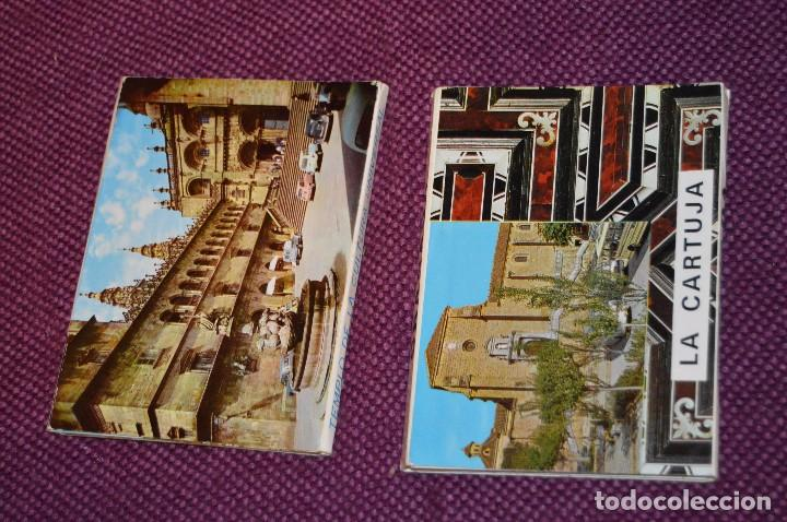 Postales: LOTE 7 LIBRITOS DE POSTALES - GRANADA, AVILA, TOLEDO, S COMPOSTELA Y MAS - SIN CIRCULAR - HAZ OFERTA - Foto 4 - 92060545