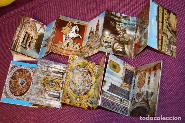 Postales: LOTE 7 LIBRITOS DE POSTALES - GRANADA, AVILA, TOLEDO, S COMPOSTELA Y MAS - SIN CIRCULAR - HAZ OFERTA - Foto 5 - 92060545