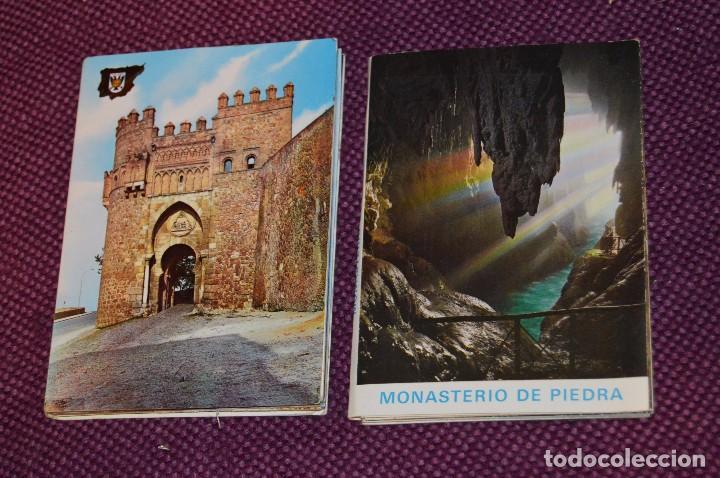 Postales: LOTE 7 LIBRITOS DE POSTALES - GRANADA, AVILA, TOLEDO, S COMPOSTELA Y MAS - SIN CIRCULAR - HAZ OFERTA - Foto 6 - 92060545