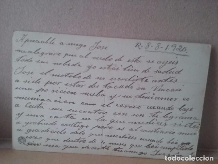 Postales: TETUAN. La radiotelegrafia. Foto Rubio. 1920. - Foto 3 - 93369440