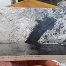 Postales: TOSSA, COVA DEL BERGANTI, ED. VIUDA BANCELLS, SERIE 1, Nº2, 1920 RARISIMA. ESCRITA. Lote 93857855